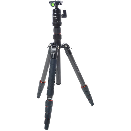 Fotopro X-GO Tripod Kit with FPH-42Q Ball Head (Black)