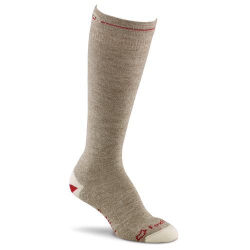 Fox River Medium Lightweight Monkey Knee-High Womens Socks (Brown Heather)