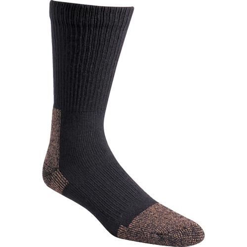 Fox River Large Steel-Toe Heavyweight Crew Socks (Black)