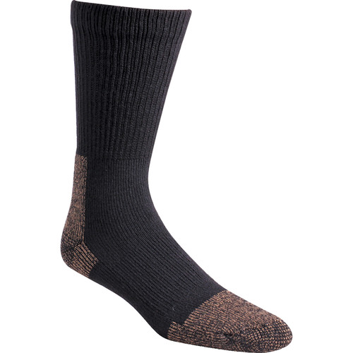 Fox River Medium Steel-Toe Heavyweight Crew Socks (Black)