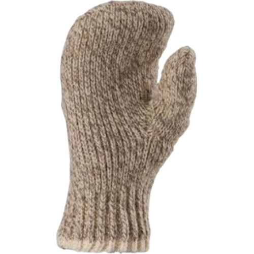 Fox River Double Ragg Wool Unisex Mittens (Brown Tweed, Large)