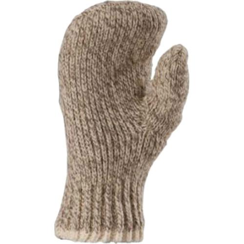 Fox River Double Ragg Wool Unisex Mittens (Brown Tweed, Medium)