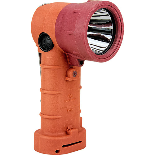 FoxFury Breakthrough+ Hybrid Right-Angle Flashlight (Orange)