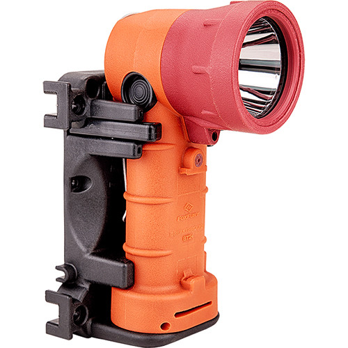 FoxFury Breakthrough+ Hybrid Right-Angle Rechargeable Flashlight (Orange)