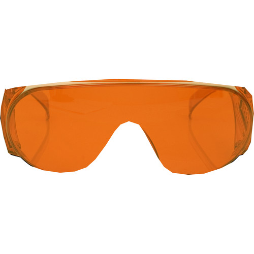 FoxFury Orange Forensic Goggles