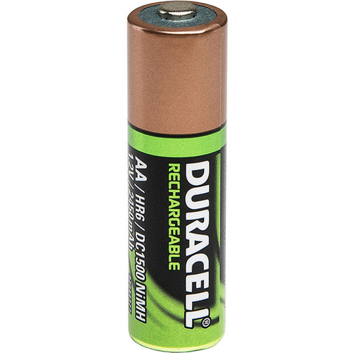 Foxfury Duracell AA HR6 DC1500 Rechargeable NiMH Battery (1.2V, 2450mAh)