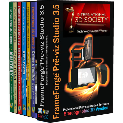 FrameForge Previz Studio 3.6 Stereographic 3D Version Premium Edition (Academic, Download)