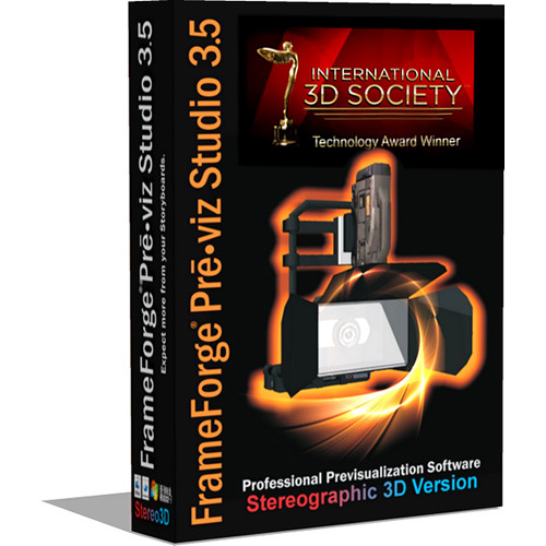 FrameForge Previz Studio 3.6 Stereographic 3D Version (Academic, Download)