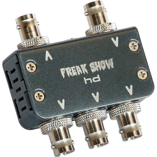 Freakshow HD Micro Split 4K/12G Reclocking DA with Locking LEMO Connector