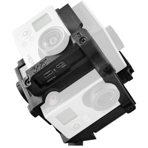 Freedom360 F360 Mount Kit with Kolor Autopano Giga 4 and Video Pro 2 Stitching Software