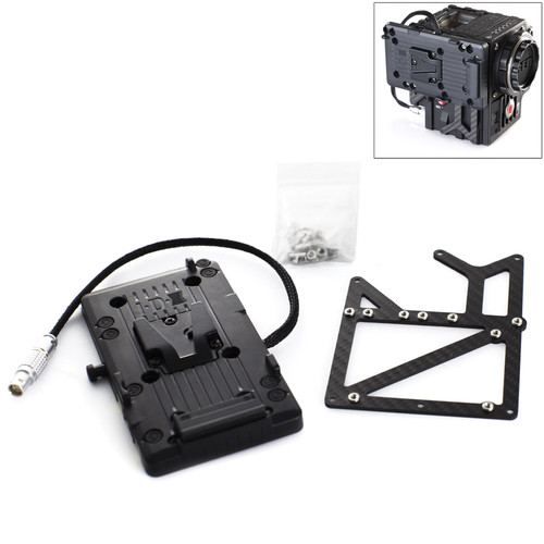 FREEFLY Carbon V-Lock Adapter Kit for RED Epic (2 D-Taps)