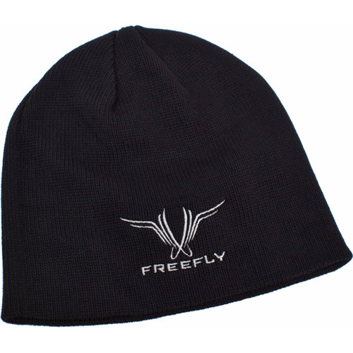 FREEFLY Embroidered Beanie (Black)