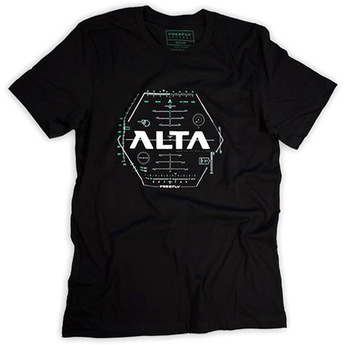FREEFLY T-Shirt with Alta Hud Artwork (Medium)