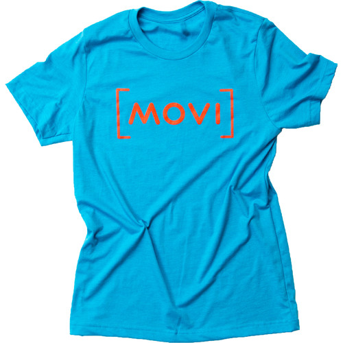 FREEFLY Movi Red Aqua T Shirt (Medium)