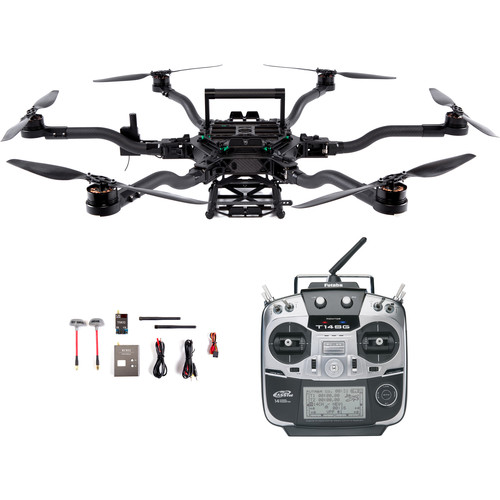 FREEFLY Alta 6 Drone with FPV System and Futaba Controller