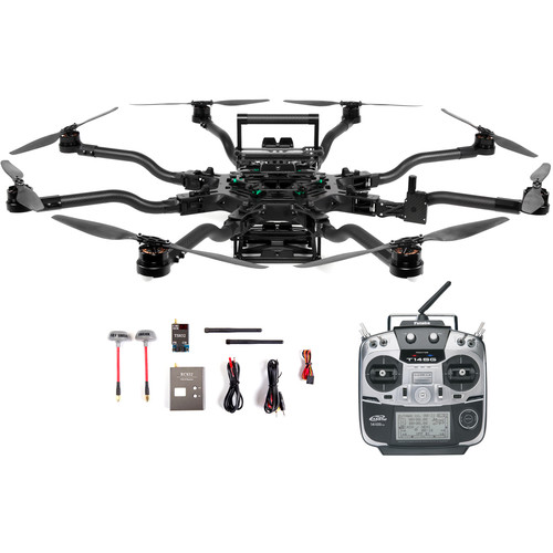 FREEFLY Alta 8 Drone with Futaba Controller and FPV System