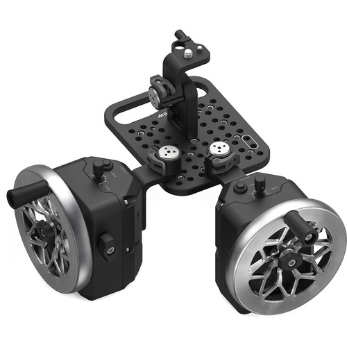 FREEFLY MōVI Wheels 2-Axis Module (Cutout Stainless Steel)