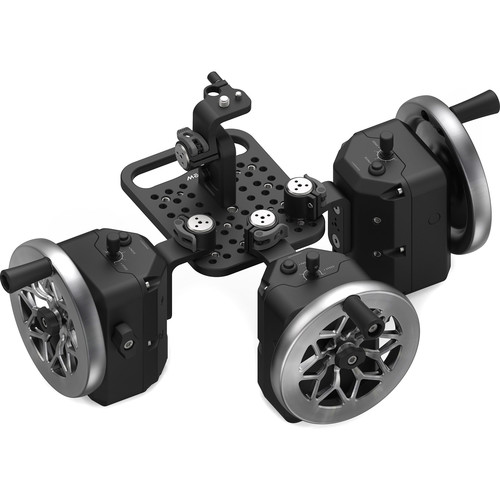 FREEFLY MōVI Wheels 3-Axis Module (Cutout Stainless Steel)