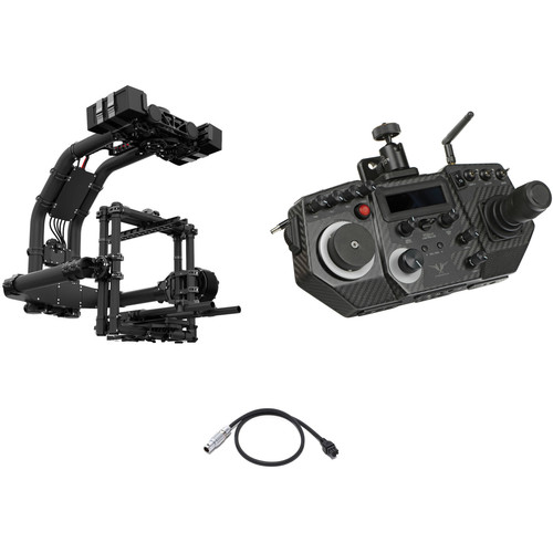 FREEFLY MōVI XL 3-Axis Motorized Gimbal Stabilizer Kit with Controller and Cable for Lens Motor