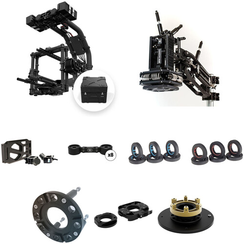 FREEFLY MoVI XL with Case & Black Arm Complete Vehicle Mount Kit