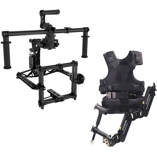 FREEFLY MOVI M15 3-Axis Motorized Gimbal Stabilizer and Steadimate 15 Kit
