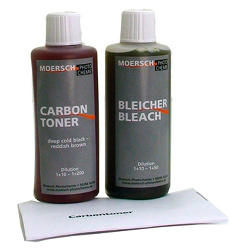 Moersch Photochemie MT20 Carbon Toner Kit (2 x 100mL)