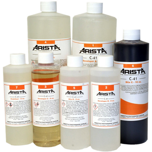 Arista C-41 Liquid Color Negative Developing Kit (to Make 1 gal)