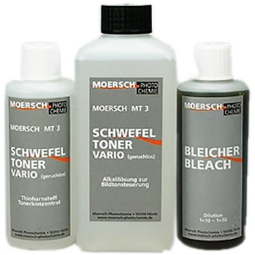 Moersch Photochemie MT3 Vario Sulphide Toner Kit #1 (To Make 1-2L Toner)