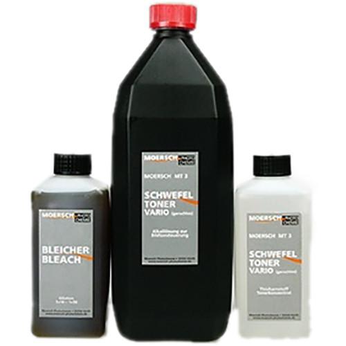 Moersch Photochemie MT3 Vario Sulphide Toner Kit #2 (To Make 5L Toner)