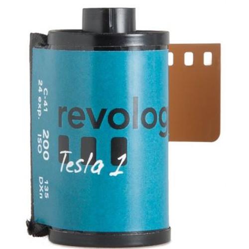 REVOLOG Tesla 1 200 Color Negative Film (35mm Roll Film, 24 Exposures)