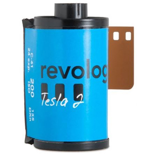 REVOLOG Tesla 2 200 Color Negative Film (35mm Roll Film, 24 Exposures)