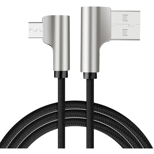 FreeVision L-Shaped USB Type-C to USB Type-A Power Cable for VILTA Gimbals (Black)