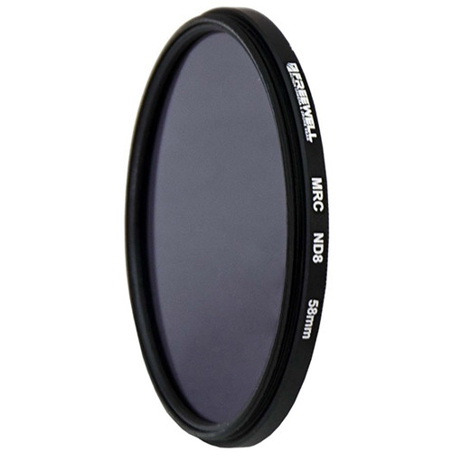 Freewell 58mm MRC Solid Neutral Density 0.9 Filter (3 Stops)