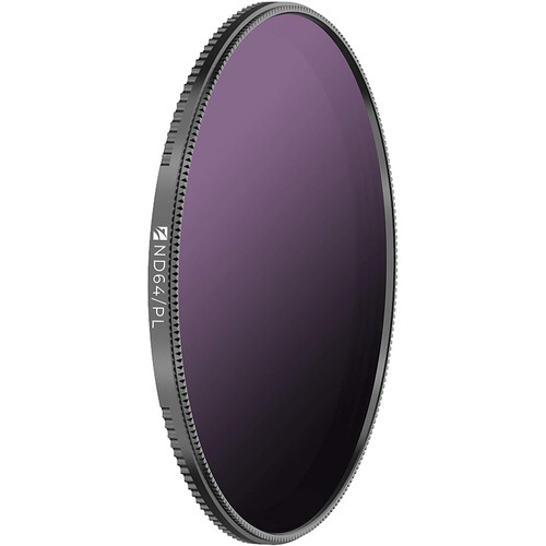 Freewell 67mm Magnetic Quick-Swap Neutral Density 1.8 and Circular Polarizer Filter (6-Stop)