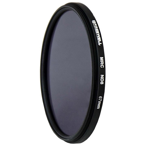 Freewell 67mm MRC Solid Neutral Density 0.9 Filter (3 Stops)