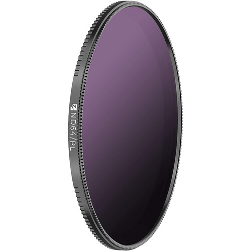 Freewell 72mm Magnetic Quick-Swap Neutral Density 1.8 and Circular Polarizer Filter (6-Stop)