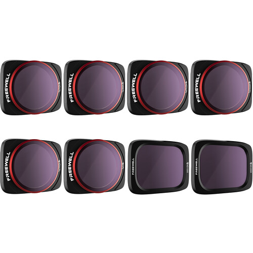 Freewell All-Day Filters for DJI Air 2S (8-Pack)