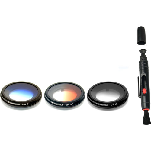 Freewell Graduated 3-Filter Kit for Yuneec CGO3 Gimbal Cameras