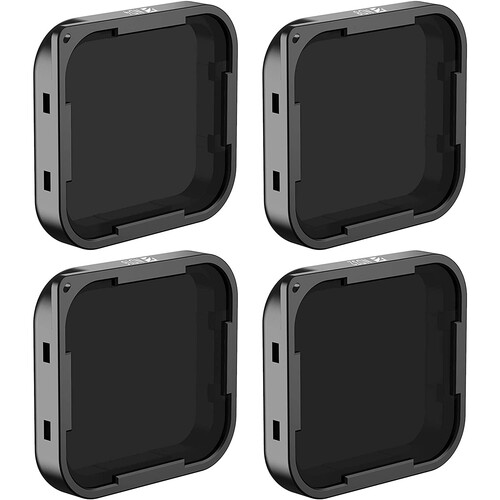Freewell ND4, ND8, ND16, and ND32 ND Filter Kit for GoPro Hero5 Black (4-Pack)