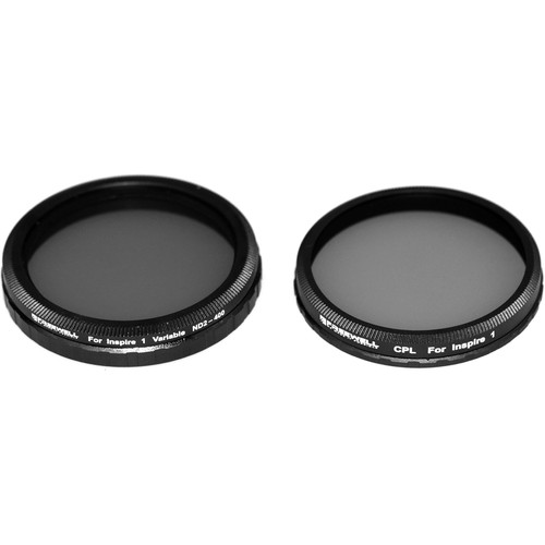 Freewell ND2-400 & CPL Filters with Lens Cleaner & Pouch (2-Pack)