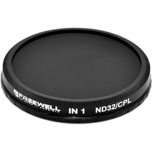 Freewell ND32/CPL 2-in-1 Filter for DJI Zenmuse X3/Z3 & Osmo/Osmo+ Lenses