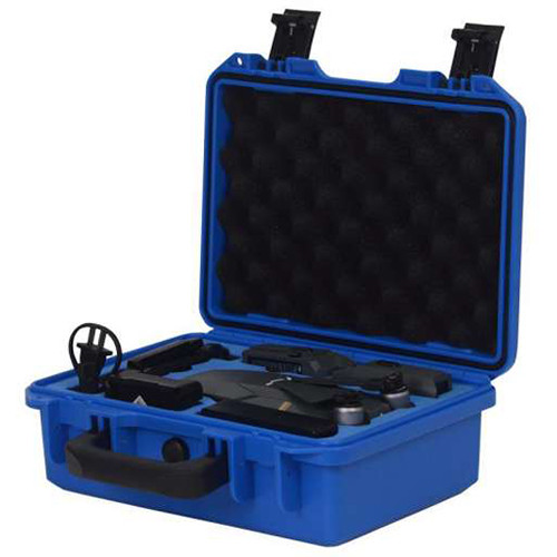 Freewell Waterproof Hard Case for DJI Mavic Pro (Small, Blue)