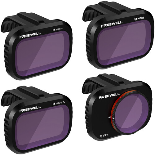 Freewell Standard Day Lens Filter Bundle for Mavic Mini Drones (4-Pack)