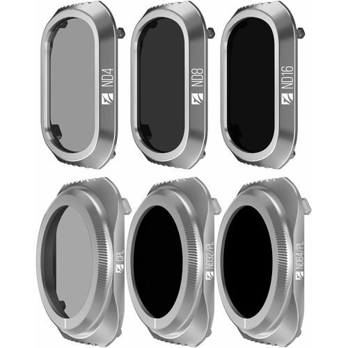 Freewell Budget Kit -E Series - 6Pack Filters Made For DJI Mavic 2 Pro