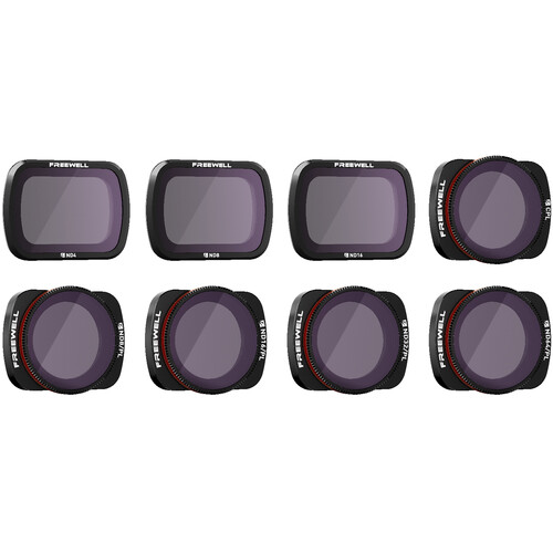 Freewell DJI Osmo Pocket Filters - All Day  ND/PL  - 8Pack