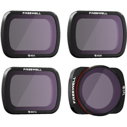 Freewell Standard Day ND PL 4-Filter Set for DJI Pocket 2 & Osmo Pocket
