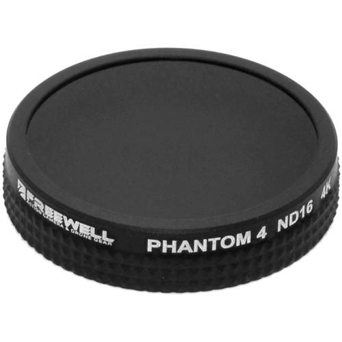Freewell ND16 Filter for DJI Phantom 4/Phantom 3 Pro/ADV/4K Drones