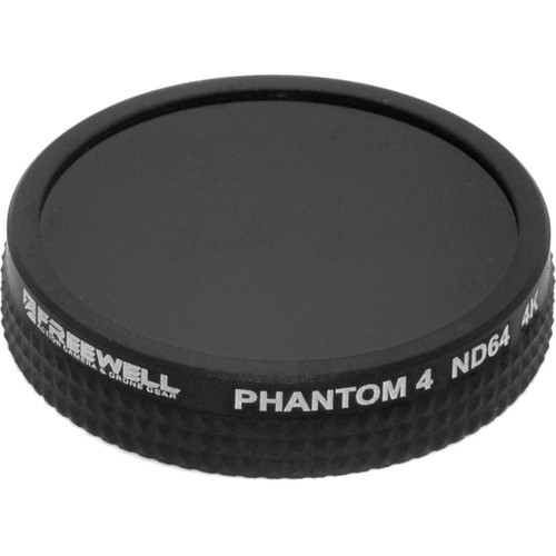 Freewell ND64 Filter for DJI Phantom 4/Phantom 3 Pro/ADV/4K Drones