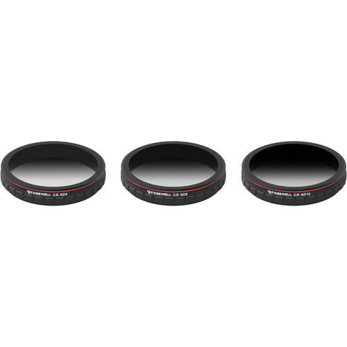 Freewell Graduated Neutral Density Filters for Zenmuse X4S (ND4 / ND8 / ND16)