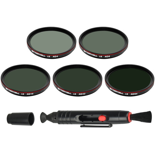 Freewell IR ND Filters for DJI Zenmuse X5/X5R/X5S/X7 (5-Pack)